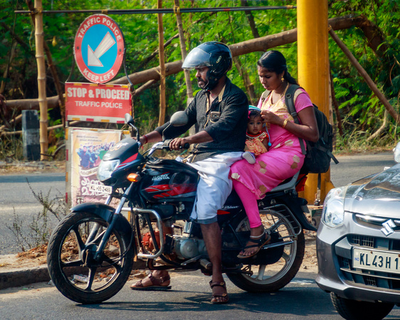 Baby Seat, Cochin, India
