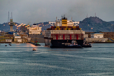 Pacific Entrance to New Panama Canal