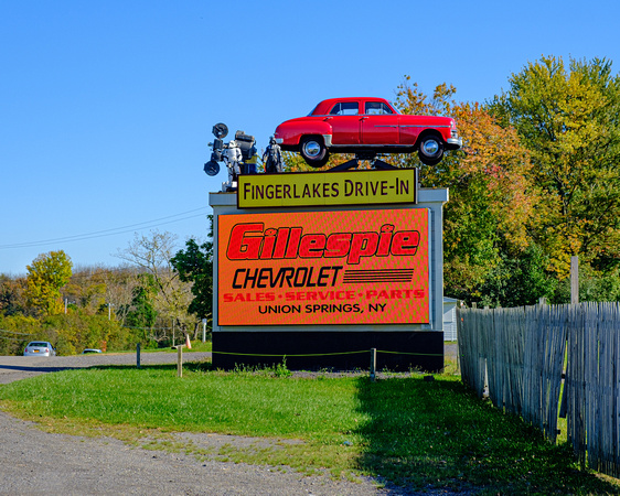 The Oldest Drive-in in New York State: est. 1947