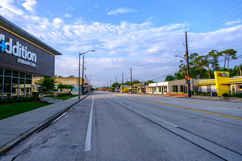 North Mills Ave. Southbound