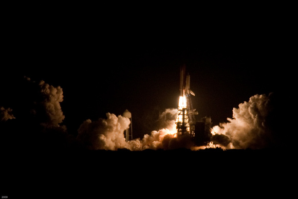 Discovery STS-119 Liftoff