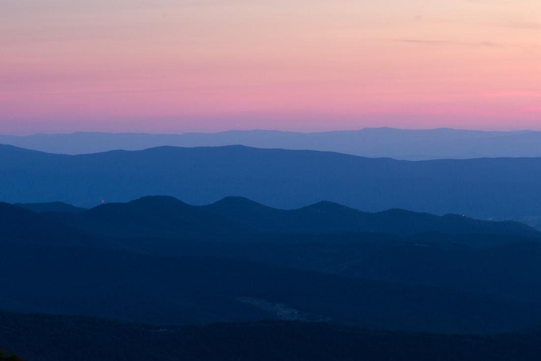 Shenendoah Valley Sunset