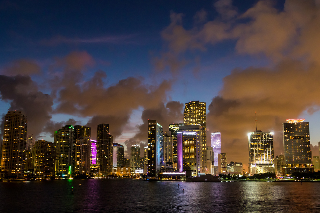 Miami Welcomes the Night
